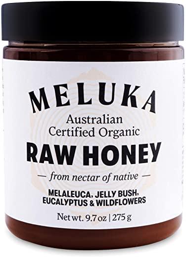 Meluka 100% Pure Premium Unfiltered Native Australian Raw Honey