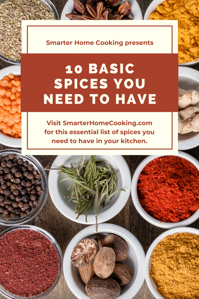 10 Essential Spices Every Kitchen Needs
