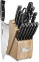 Cuisinart C77TR-15P Triple Rivet Collection 15-Piece Knife Block Set – Black