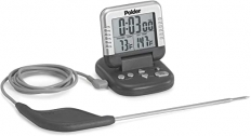 Polder Classic Combination Digital In-Oven Programmable Meat Thermometer and Timer